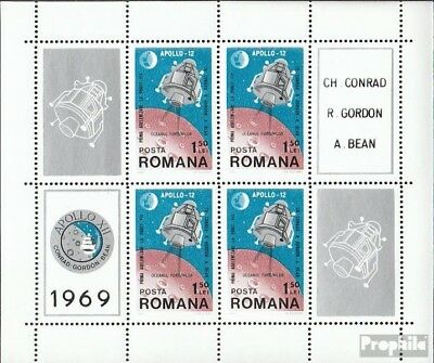 Romania block74 (complete issue) unmounted mint / never hinged 1969 Moon Landing