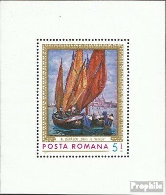Romania block90 (complete issue) unmounted mint / never hinged 1971 Paintings: t