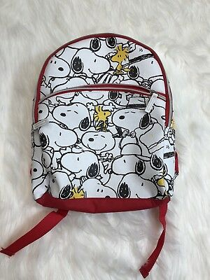 Peanuts Gang Charlie Brown White Snoopy Small Backpack Purse