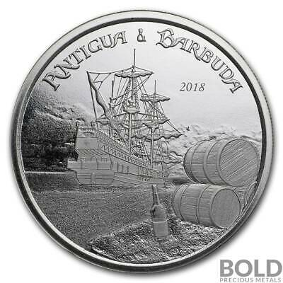 2018 Antigua & Barbuda Silver Rum Runner 1 oz