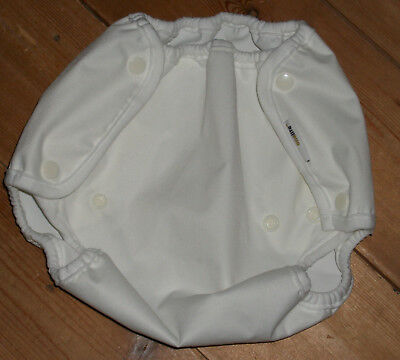 NEW Onelife white nappy cover /wrap size 2 (8-11 kgs)