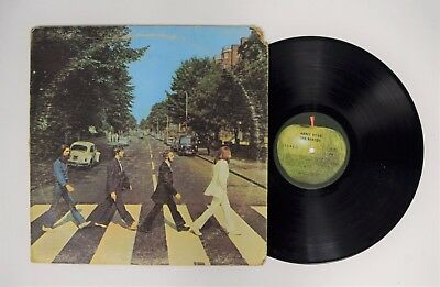 The Beatles Abbey Road LP Capitol Records SO-383 Come Together '69 Master vinyl