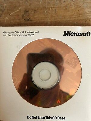 Never used MICROSOFT OFFICE XP Pro 2002  with Keys.