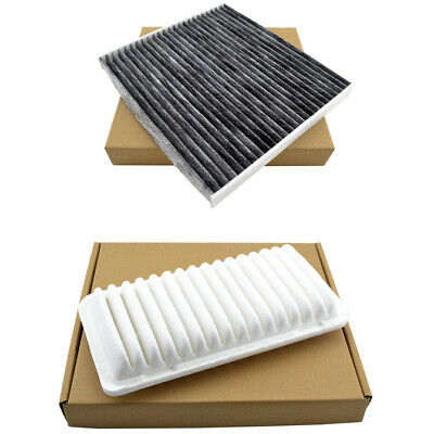 Combo Set Engine & Cabin A/C Air Filter for 2003-2008 Toyota Corolla Matrix
