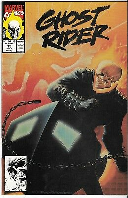 1991 Ghost Rider Issue #13 Marvel Comic Book Bag/board Vg-Mt Vintage Rare