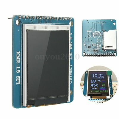1.8 Inch Mini Serial SPI TFT LCD Module Display PCB Adapter ST7735S For Arduino