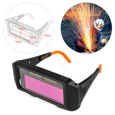Pro Solar Auto Darkening Welding Mask Helmet Goggles Welder Eyes Glasses Tools