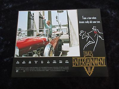That's Entertainment Part III lobby card # 3 - MGM Musicals