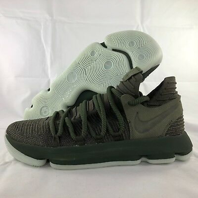 d94cacc9c0fd Nike Zoom KD10 NL NikeLab Multicolor Olive Dark Green 917732-900 Men s 9.5  NEW