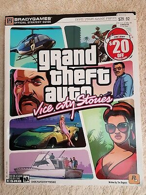 Grand Theft Auto : Vice City Stories Strategy Guide. Bradygames Official Strateg