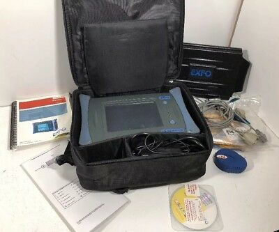 EXFO FTB-100B Mini-OTDR W/ Case, Paperwork, & Cables