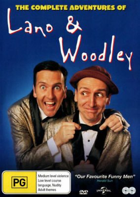 Complete Adventures of Lano and Woodley DVD [New/Sealed]  Region 4