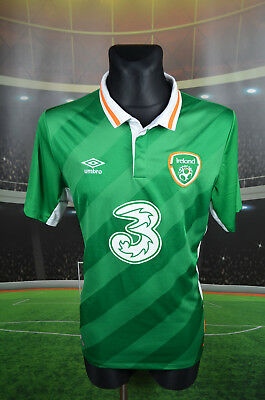 Ireland Eire Umbro Home Football Soccer Shirt (L) Jersey Top Trikot Large Maglia