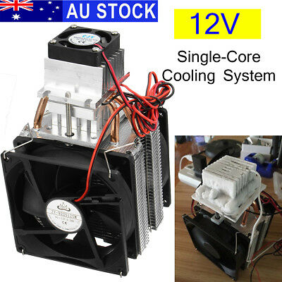 12V Semiconductor Air Refrigeration Thermoelectric Peltier Cooling Cooler System