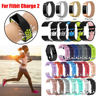 For Fitbit Charge 2 Strap Band Wristband Watch Replacement Bracelet Accessories