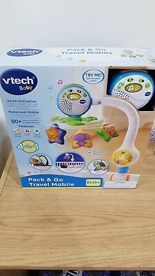 Vtech Baby Pack & Go Travel Cot Mobile 4in1 - BIRTH+.Brand new boxed.