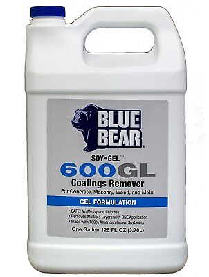 Blue Bear BBISG1G 600GL Coatings Remover - 1 Gallon