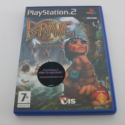 Brave - The Search pour Spirit Dancer - Sony Playstation 2 PS2 jeu - COMME NEUF