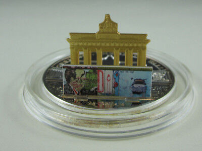 2009 Cook Islands 3 oz silver $25 20th Anniversary Fall of the Berlin Wall PROOF