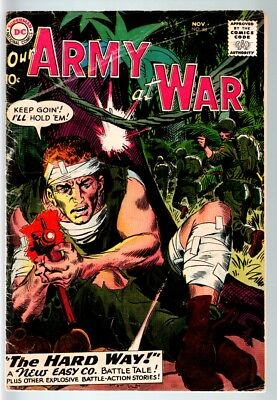 Our Army At War #88 1959-Dc War Comic-First Sgt. Rock Cvr-G/vg G/vg