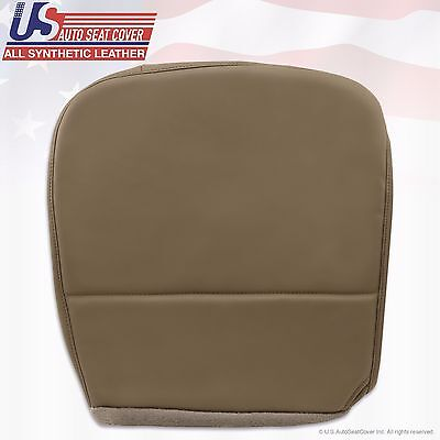 2010 Ford F250 F350 F450 F550 XL Driver Replacement Bottom Vinyl Seat Cover Tan