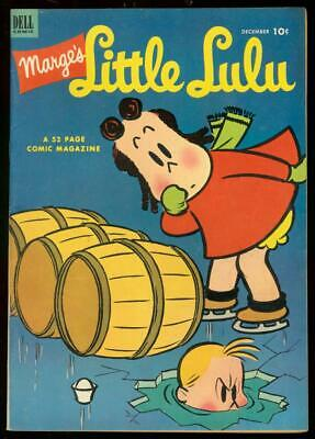 Marges Little Lulu #54 1952-Dell Comics-Tubby Falls Vf- Vf