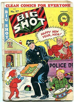 Big Shot Comics #97 '49-Sparky Watts-Flying Disks Issue G/vg