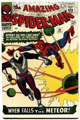 Amazing Spider-Man #36-1St Looter-Marvel Comics Silver-Age-Vf/nm