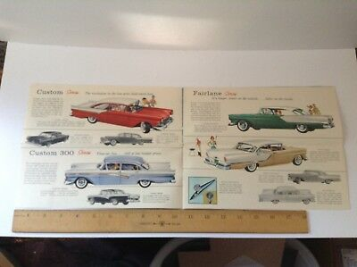 1957  Ford Brochure, Good Condition