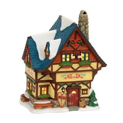 Bavarian Cottage Alpine Village Dept 56 4056618 Christmas New house snow store