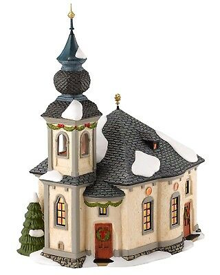 Ave Maria Chapel Alpine Village Dept 56 4030337 Christmas New church building A