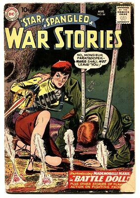 Star Spangled War Stories #84 1959- 1st appearance Mademoiselle Marie DC