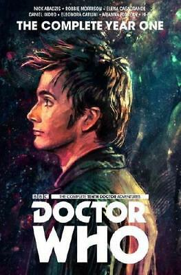 Doctor Who. The Tenth Doctor by Nick Abadzis, Robbie Morrison, Elena Casagran...