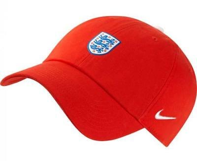 Nike 2018 World Cup England Unisex H86 Core Cap Hat 881712-600 1805 a7c02427f639