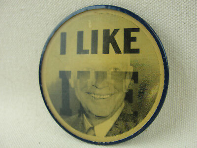 1952 Dwight Eisenhower I LIKE IKE Campaign Flasher Button