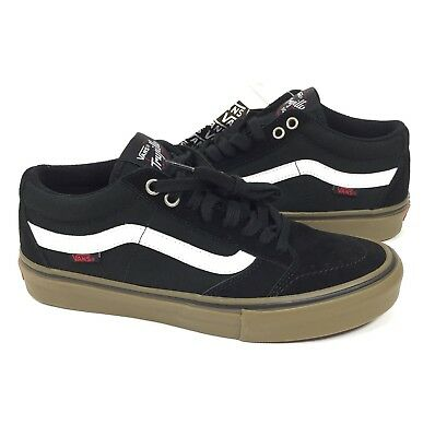 23e210282c Vans TNT SG Pro Size 7.5 Men Black White Gum Trujillo Suede Canvas Skate  Shoe