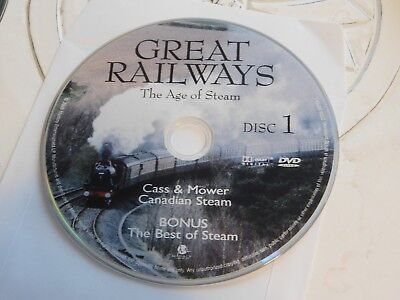 Great Railways The Age Of Steam Disc 1 Replacement DVD Disc Only 61-399