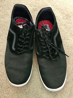 40d3242fd9e1d2 VANS ISO SHOES Ultra Cush 500664 Black Athletic Shoes Mens Size 10.5 ...