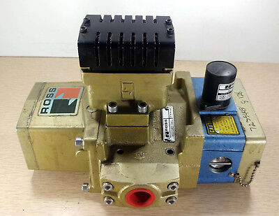 1 Used Ross 3573A5141 Pneumatic Solenoid Valve ***make Offer***