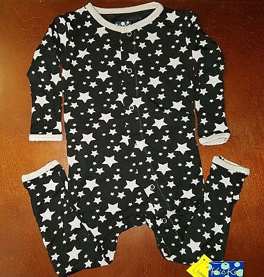 6201522ba KicKee Pants Midnight Stars Toddler Boy Coverall 12-18 Months New