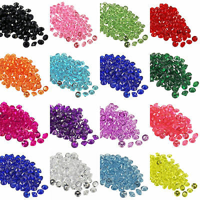 9000pk Wedding Crystals Diamond Confetti Table Decoration Scatter 2.5mm