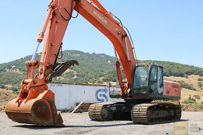 2007 Hitachi Zx350Lc-3 Excavator Tier 3 Thumb Q/c Long Arm 5400Hrs
