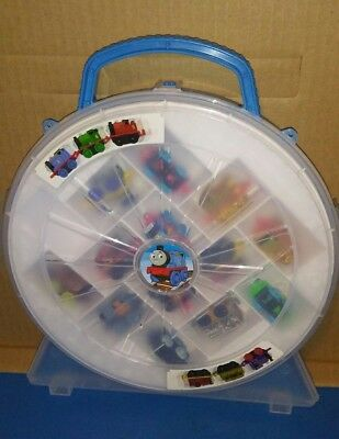 Thomas the Train and Friends Minis with 13 Train Lot and Carrying Case