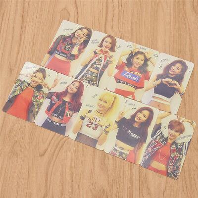 9 Pcs Kpop Star TWICE The Story Begins Album Photo Cards Collections PVC Crafts