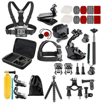For Gopro Hero Session Fusion Acessories Kit Set Basic Sports Combo 58Packs