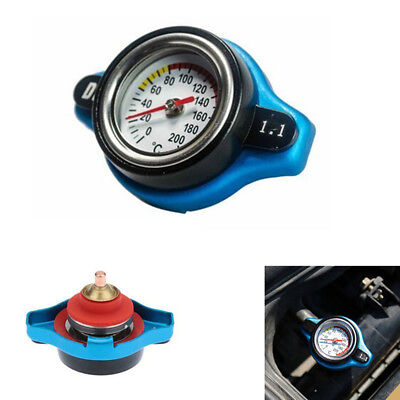 1.1 Bar Thermo Thermostatic Radiator Cap Cover Water Temperature Gauge Part 1pcs