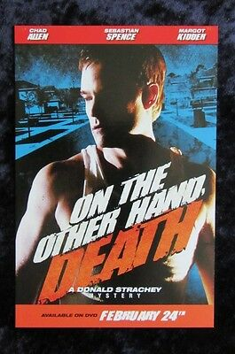 On The Other Hand Death promo card (b) Chad Allen (lot of 5) - 4 x 6 inches