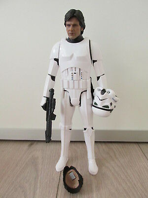 "1/6 Figur Custom Stormtrooper 12"" Han Solo, Star Wars Alternative zu Hot Toys"