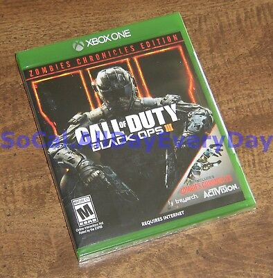 Call of Duty Black Ops III 3 ZOMBIES CHRONICLES Edition (Xbox 1 One) NEW CoD BO3