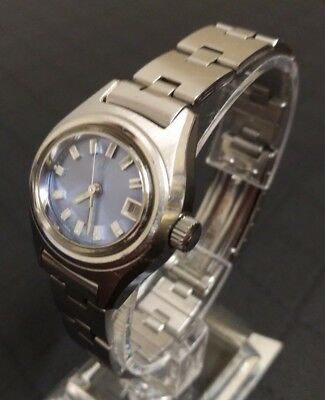 Vintage CITIZEN 28800 Automatic 17Jewels Damen Armbanduhr Edelstahl 60-70er RAR